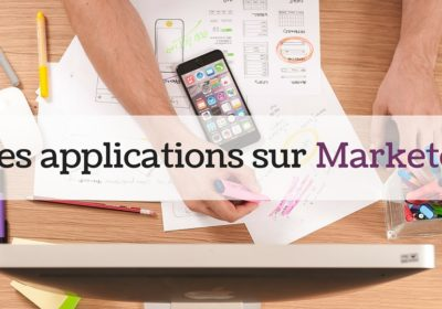 Les applications sur Marketo