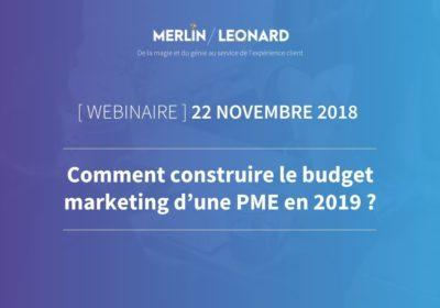 Comment construire votre budget marketing pour l'année 2019