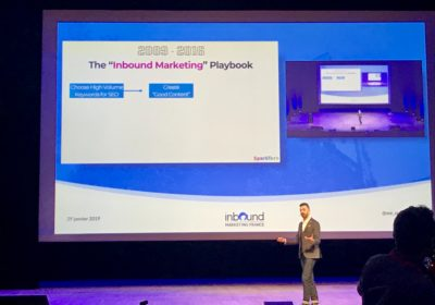On cause Social Selling durant l'Inbound Marketing France 2019