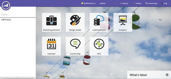 Screenshot Marketo