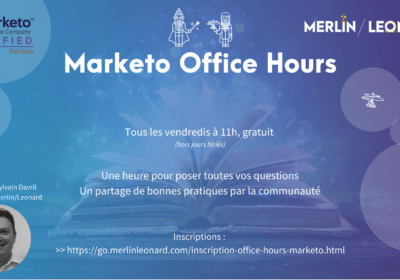 Visite du centre de préférences de communications Merlin/Leonard : Marketo Office Hours 22/11/19