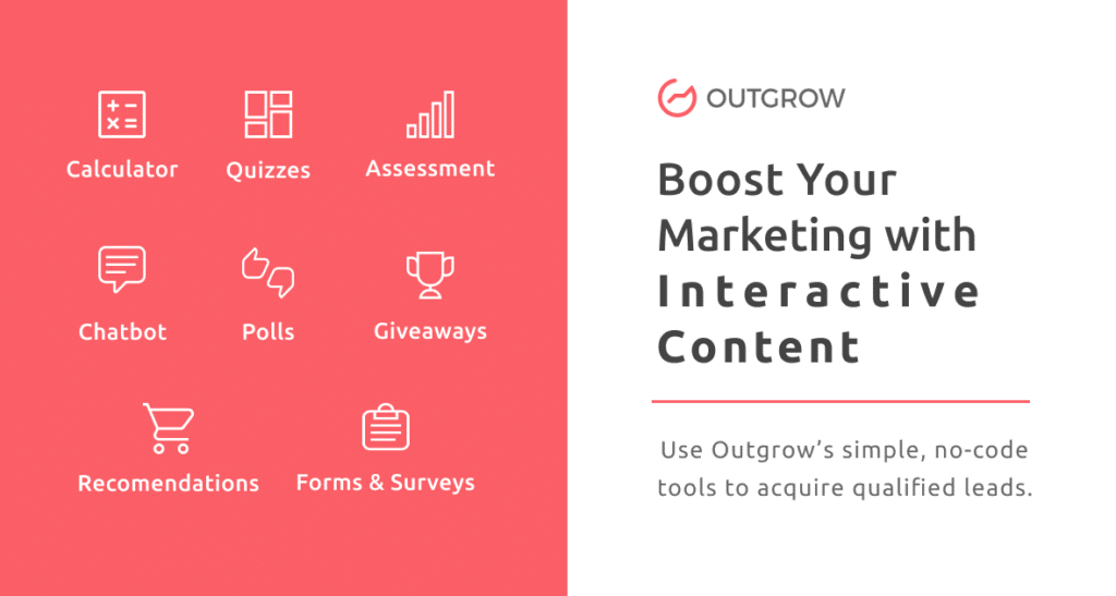 Boost your marketing with interactive content - questionnaires, quiz, calculateurs, etc