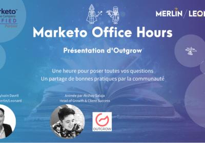 Marketo Office Hours présentation et intégration d'Outgrow 26/02/21